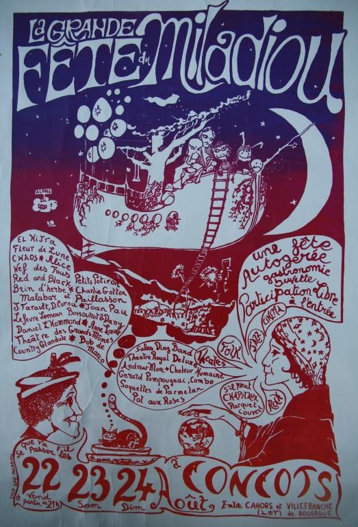 Affiche Miladiou 1980